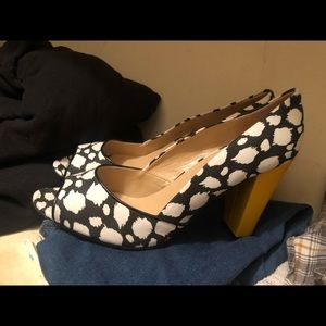 Classy dotted heels